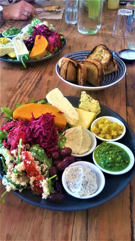 platter lunch Seasonal Garden Cafe
